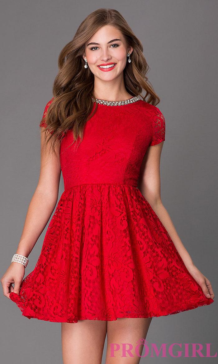 Vestido rojo y negro para gorditas