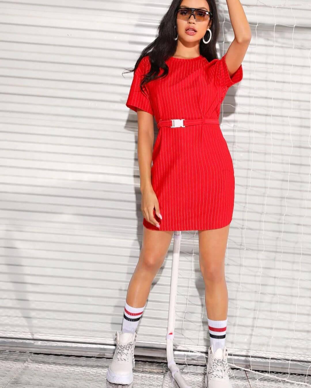 Vestidos Rojos Cortos Pegados Ge139f80cc Gecmisegidelimcom