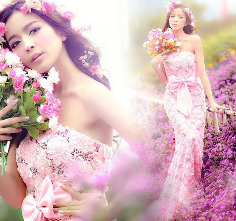 Vestidos de Novia a Color | Vestidos Glam
