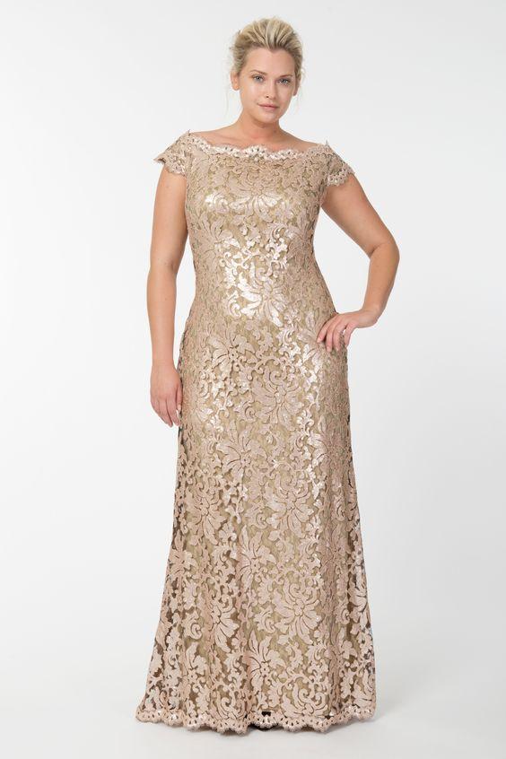 Vestidos para bodas de oro en el dia