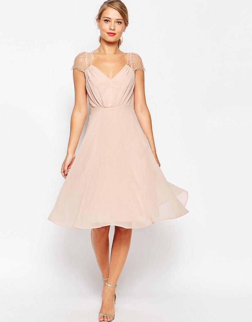 Vestidos Color Nude O Rosa Palo Fiestas Bodas