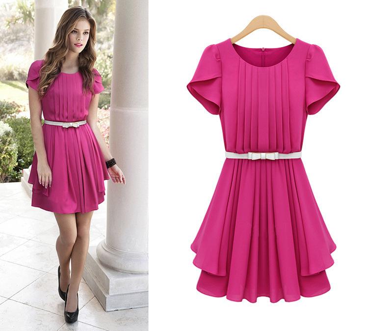 26 Vestidos de falda ancha ¡Muy a la moda! - Vestidos Glam