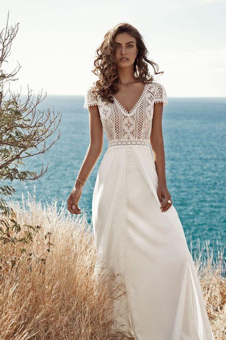 vestidos de novia boda dia civil
