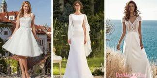 Vestidos de novia para una Boda de dia o Jardín