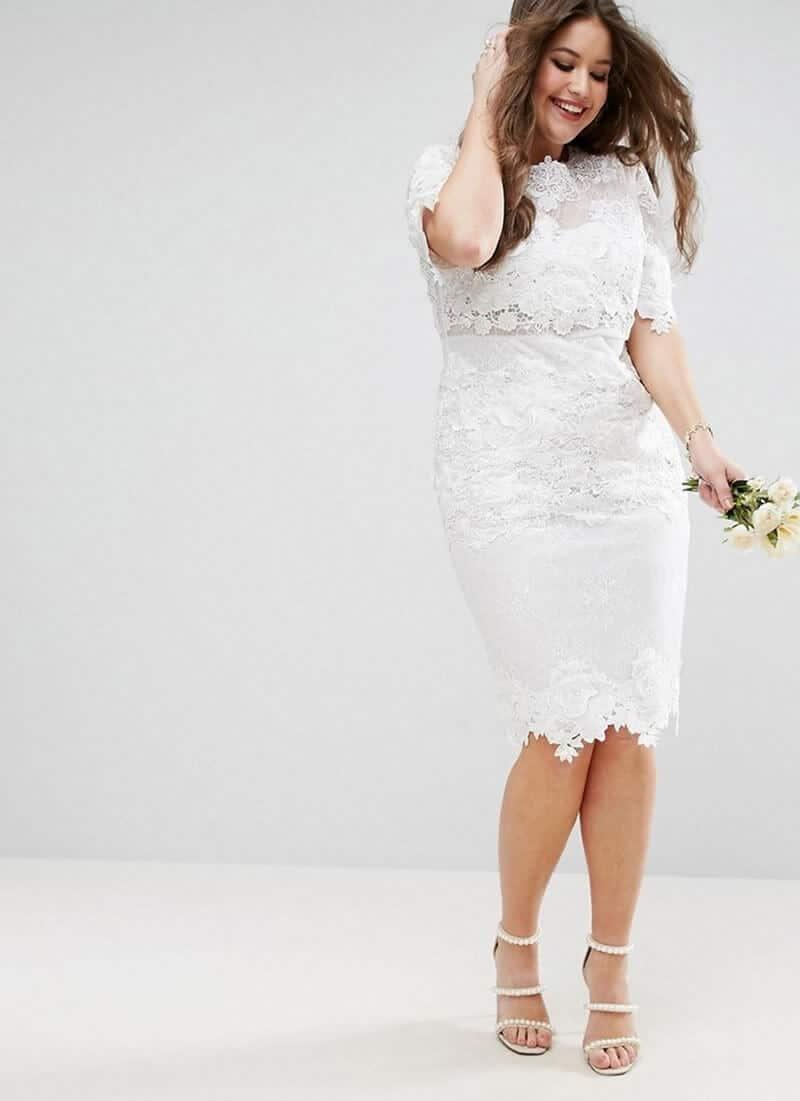 vestidos de novia para gorditas boda dia