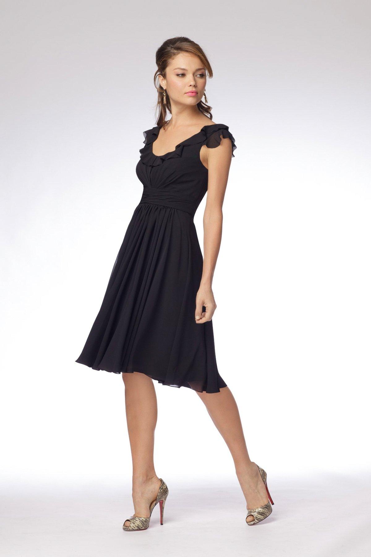 d496cf938 Te traemos unos diseños hermosísimos de vestidos negros que pueden sacarte  de un apuro para alguna reunión de cóctel una celebración informal.