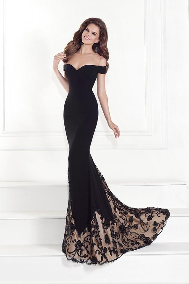Vestidos color negro pegados