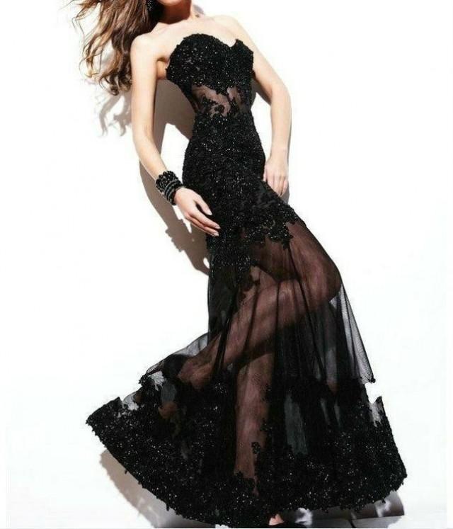 proporcionar una gran selección de nuevo estilo y lujo garantía limitada 🥇 Vestidos de fiesta color negro - Vestidos Glam