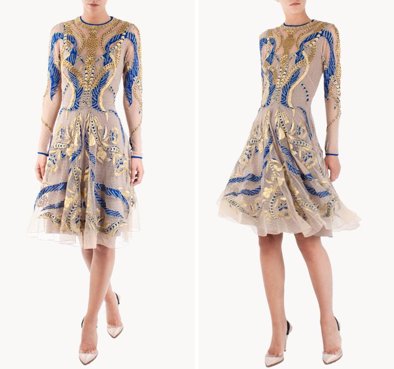 Vestidos para asistir a una boda vestidos glam for Boda en jardin vestidos
