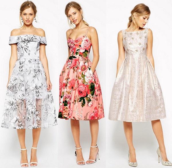 Vestidos Cortos Para Fiesta En Jardin De Dia Vestidos De