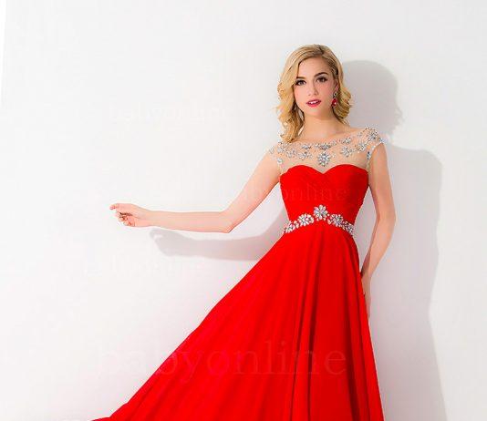 Vestidos rojos para una noche formal