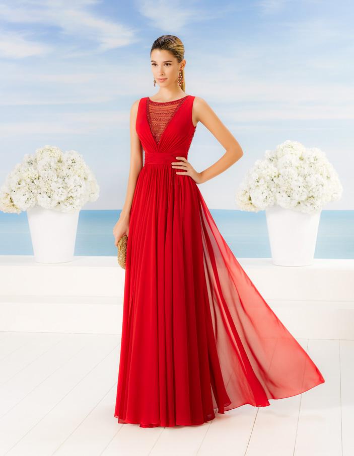 vestidos rojos largos formales