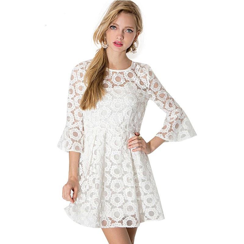 Atrevete A Usar Vestidos A Crochet Ideales Para El