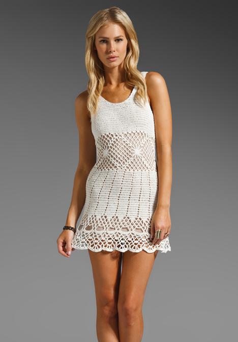 Atrevete a Usar Vestidos a Crochet ¡Ideales para el Verano ...