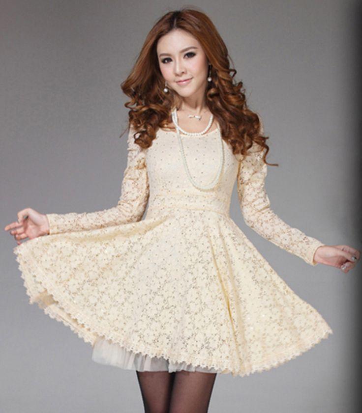 Los Mejores Modelos De Vestidos Color Beige U00a1Para El Du00eda Y La Noche! - Vestidos Glam