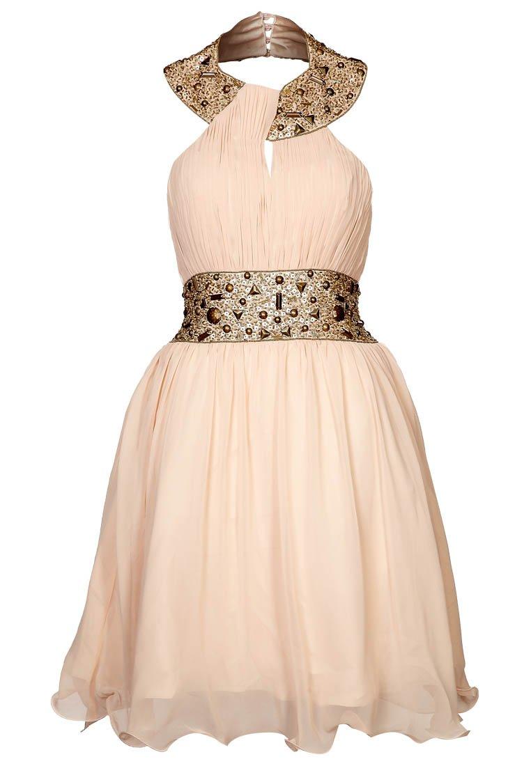 6b39b5a02 Los mejores modelos de vestidos color Beige ¡Para el día y la noche ...