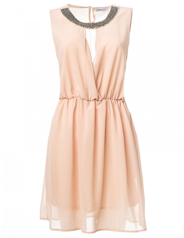 Los Mejores Modelos De Vestidos Color Beige Para El Día