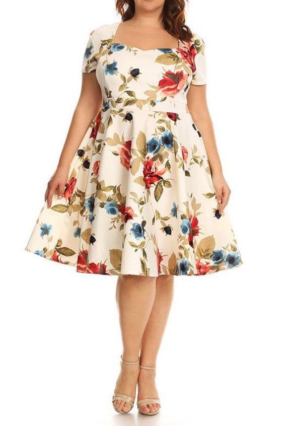 Modelos de vestidos para las gorditas