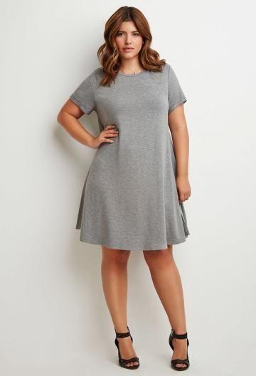 Modelos de vestidos para mujeres llenitas