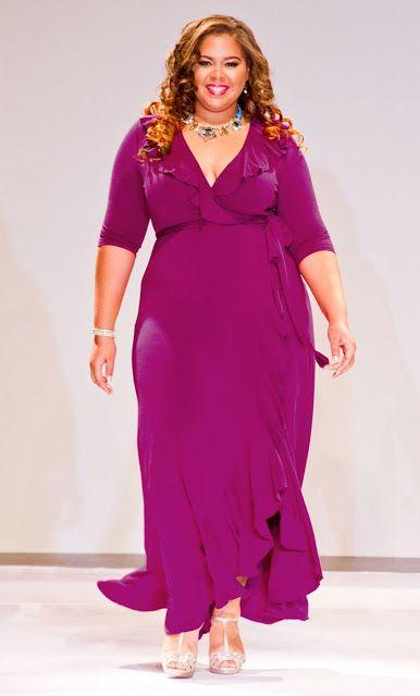 Una mujer con kilitos de mas puede lucir muy sensual y destacar en  cualquier evento si se esmera en escoger el vestuario indicado para su  fisionomía y un ... 40d6b390f2b