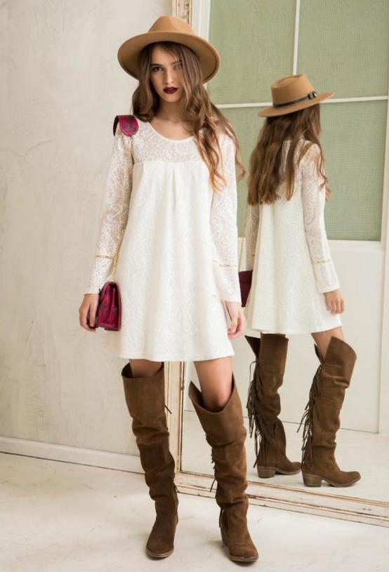 Vestidos anchos invierno
