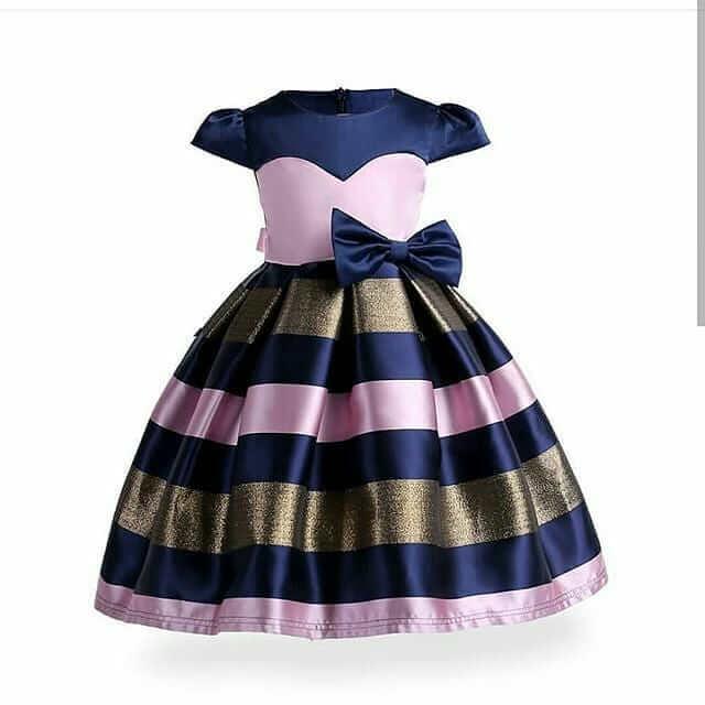 vestido navideno para niña