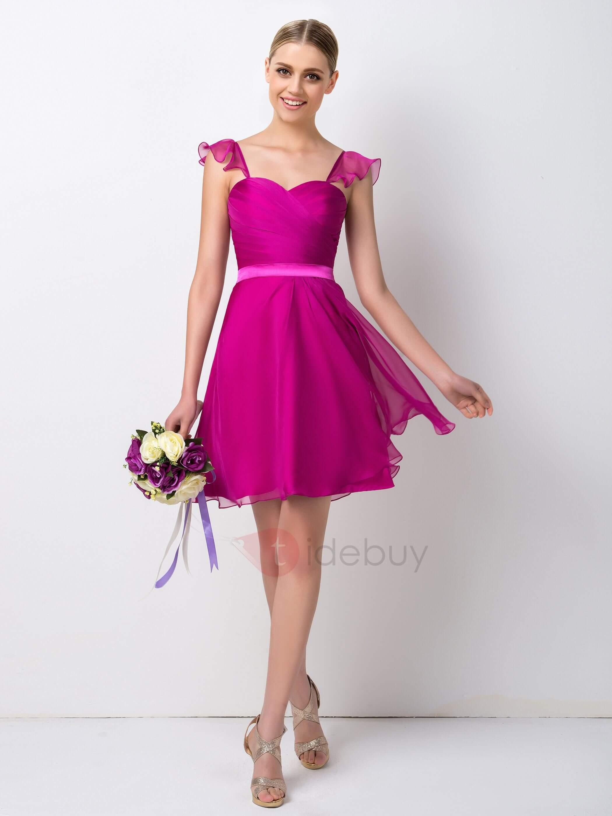 ▷ Mas de 40 vestidos para se la dama de honor en una boda