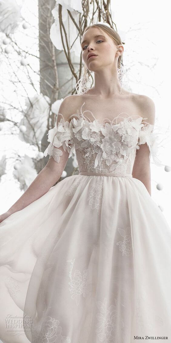 vestido de 15 blanco moderno