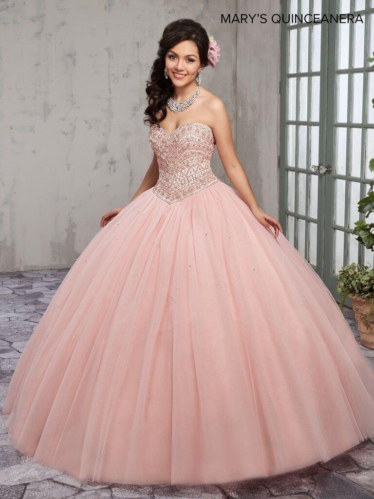 vestido de 15 color palo
