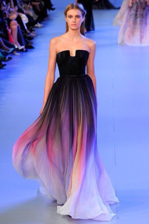 vestido de 15 moderno escotado
