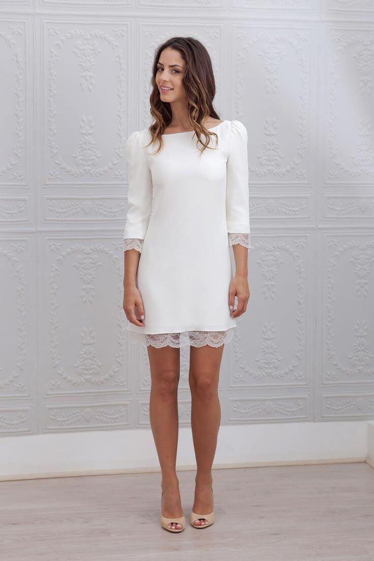 Vestidos sencillos y modernos