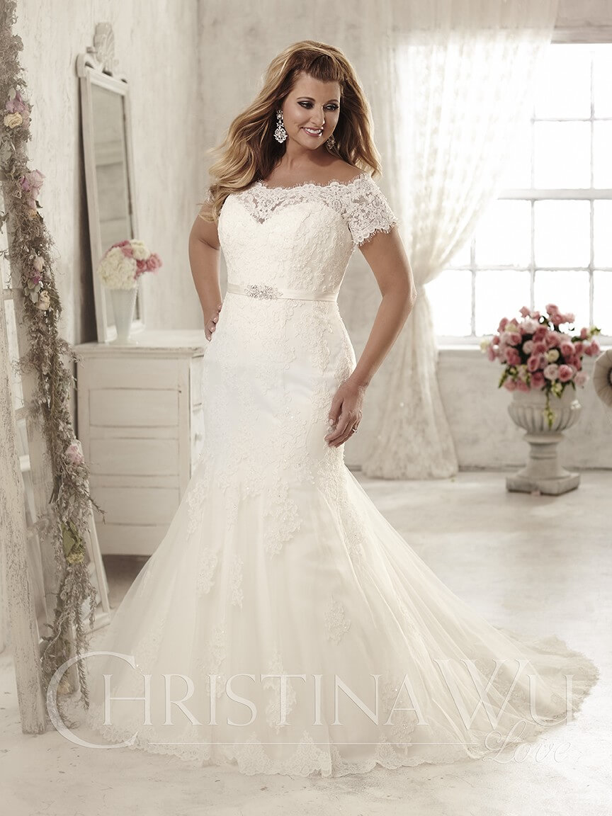 vestido de novia de sirena para gorditas