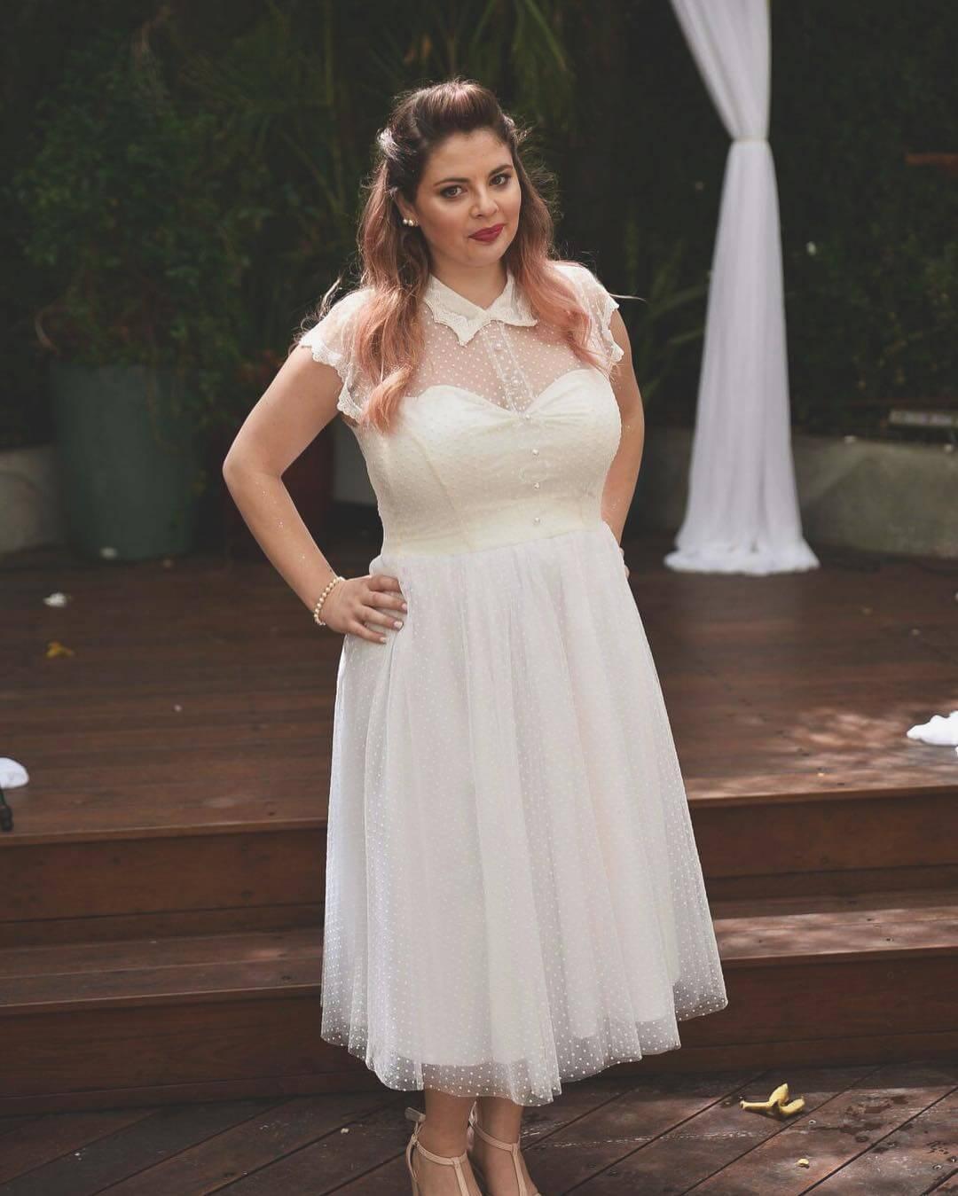 vestido para novias gorditas