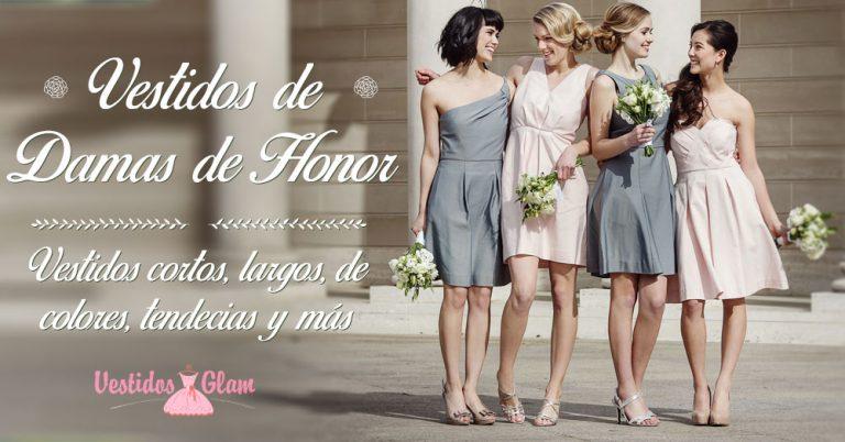 Hermosos vestidos para damas de honor