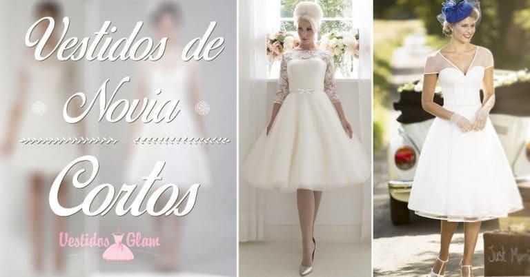 Los mejores vestidos cortos de novia