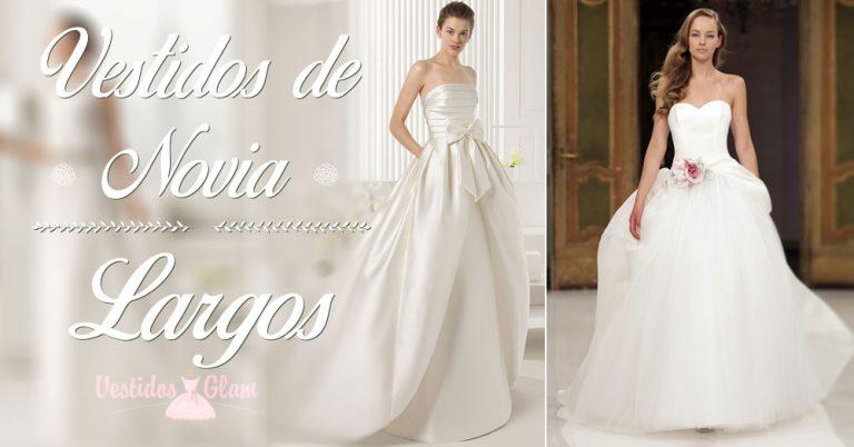 Los mejores vestidos de novia largos