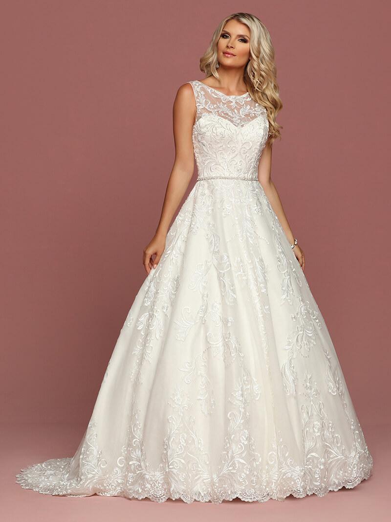 vestidos de novia largos clasico