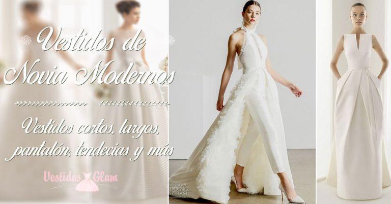 Increíbles vestidos de novia modernos para lucirte
