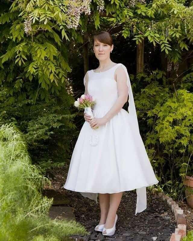 vestidos de novia super simple