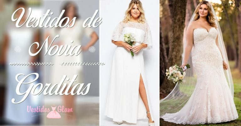 Los mejores vestidos de novia para gorditas